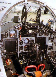 "Mikoyan MiG-29M ""Fulcrum"" cockpit"