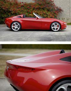 Alfa Romeo 2uettottanta by Pininfarina   Inspiration Grid   Design Inspiration - LGMSports.com
