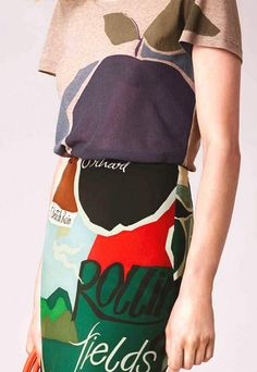 patternprints journal: PATTERNS AND PRINTS FROM PRE-SUMMER 2015 WOMAN FASHION COLLECTIONS / Burberry Prorsum