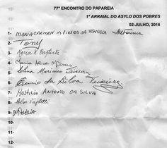 PAPAREIA: 77° Encontro do Papareia + Arraial no Asylo