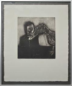 Lena Cronqvist: Figurkomposition, etsning, 24x22 cm, edition 17/20 - Bukowskis Market 9/2012