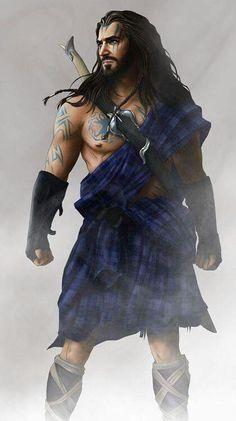 Thorin Oakenshield as a celt