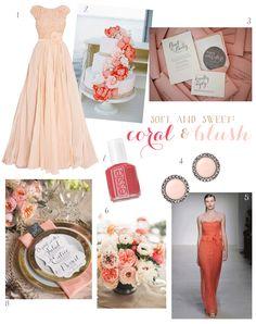 trend spotting: peach & coral
