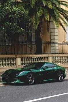 Leaf green Berlinetta