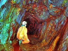 Dolaucothi Gold Mines - the only Roman gold mine in the UK (National Trust).