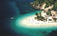 Isla de Plata, pequeño paraíso del Mar Caribe, dentro del Parque Nacional Mochima
