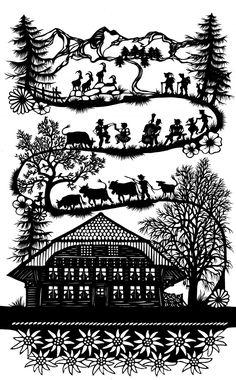 Emmental Nativity Silhouette, Silhouette Art, Paper Cutting, Newspaper Art, Scandinavian Folk Art, Decoupage, Paper Artwork, Shadow Puppets, Kirigami