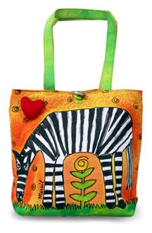 Bright Bags Zebra Large Stylish/colorful Tote Bag for sale online Large Tote, Large Bags, Scripture Case, Art Bag, Sun And Stars, Purse Organization, Bag Sale, Bag Accessories, Purses And Bags
