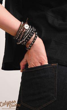 Carnival Metallic Wrap Bracelets