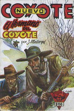 La herencia del Coyote. Ed. Cliper, 1951. (Col. Nuevo Coyote ; 53)