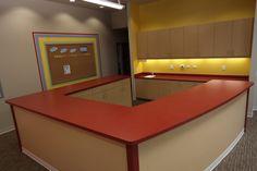 Laminate Cabinetry and countertops. Brea, CA