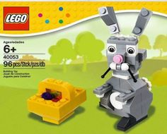 Gifts for Kids:  Incorporate charity into this years Easter baskets by helping Heifer International with a donation of bunny rabbits.  Then fill the rest of the basket with bunny-themed presents like this LEGO 40053 Easter Bunny with Basket (ages 6+) at Amazon.