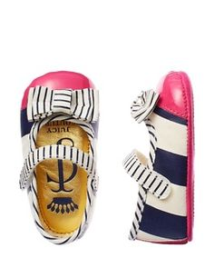 Got to love these for the little ones - designer baby shoes how Gorgeous!!!