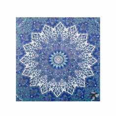 Blue purple tapestry boho single cute NEW Brand new, still in packaging! *not from urban but looks like the ones they sell* size of a single bed sheet 60x90 Urban Outfitters Accessories