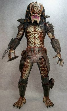 Neca 1/4 scale Predator 2 repaint by mangrasshopper on DeviantArt