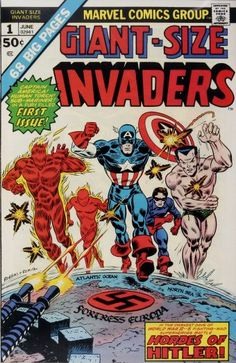 Marvel doesn't like Nazi's