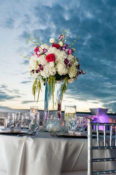 Key West wedding | Centerpiece| JHunter Photography