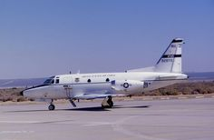 North American T-39A - 1-NA Sabreliner converted to NT-39A