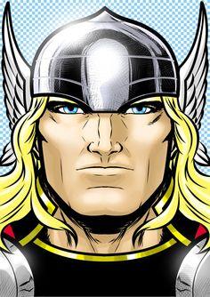 Thor Portrait Series by Thuddleston@deviantART