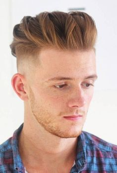 Male Haircuts Curly, Mohawk Hairstyles Men, Redhead Hairstyles, Grease Hairstyles, Haircuts For Men, Triangle Face Hairstyles, Face Shape Hairstyles, 2 Braids Men, Red Hair Men