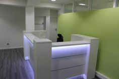 Valde reception desk. Project in Germany.