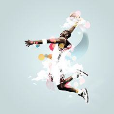 Sports Motion design by Christopher Womersley, via Behance