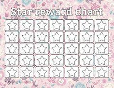 Reward Chart Template For Kids | Kiddo Shelter | Printable Reward ...