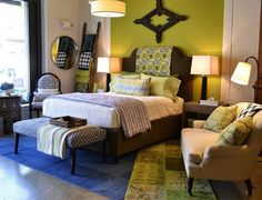 Freshening up your bedroom? Here're 5 summery ideas from Solis Betancourt & Sherrill.