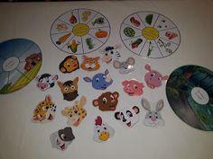 Creionasul cel istet si prietenii: Animale salbatice si domestice - joc asociere Decorative Plates, Puzzle, Baby, Fiestas, Animales, Manualidades, Puzzles, Baby Humor, Infant