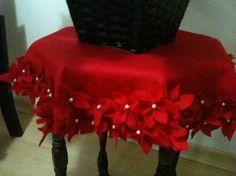 Resultado de imagem para toalhas de mesa de natal em feltro