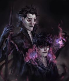 Pitch Black and Dark Jack Frost