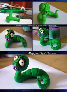 Here is Maggot from Corpse Bride Guess who will I cosplay as in August? I'm in love with Tim Burton's wonderland, and Corpse Bride is my most favourite of all. I used green Fimo soft, but it became...
