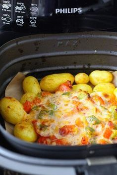 Deze heerlijke Italiaanse viscuisine met krieltjes maak je met gemak in de Airfryer! // Francesca Kookt