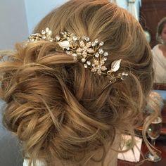 Wedding hair created by myself