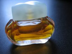 Vintage Mini Miniature Glass Bottle Estee Lauder KNOWING Parfum Perfume .12 oz by CLASSYBAG on Etsy
