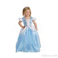 Cinderella Dresses for Girls Children Wedding Dresss for Girls Babies Kids Prom Dresses Pageant Dresses Ball Gown Gauze Flower Girls from U_luck, | DHgate.com#dhgatepin