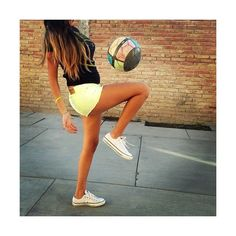 girls playing soccer ❤ liked on Polyvore featuring icons, people and photography