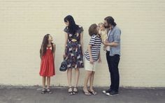 Cutest and best dressed family award!
