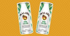 Malibu Rum Now Makes Canned Piña Coladas Malibu Rum, Caribbean Rum, Cocktails, Drinks, Beverages, House Party, Camping Stuff, Affordable Clothes, How To Make