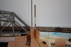It's been an interesting year and I realized this is my first post in quite some time. With Karen's mom passing away very unexpectedly in Fe. Ho Scale Train Layout, Ho Scale Trains, Model Train Layouts, Bridge Model, Railroad Bridge, Model Trains, Toy Trains, Gate, Bridges