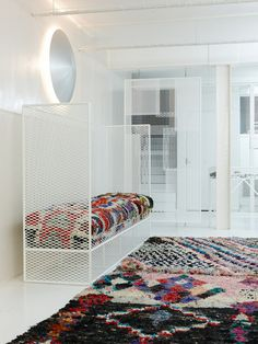 The History Of Morocco's Modern Boucherouite Rugs