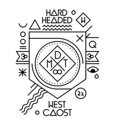 X LOGOS  Your esoteric coat of arms is not hardcore.
