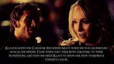 Klaroline is the greatest ship ever. When the show ends, these two better ride off into the sunset together. Like, I don't even care what happens to anyone else. I just want these two to be together forever.