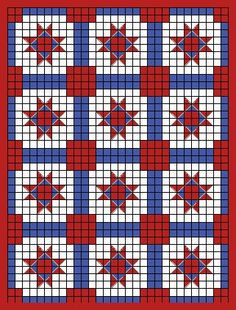 Crochet ohio-star-variant-crochet-quilt - Google Search