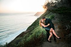 The Sunset Dip, always great for the engagement session!