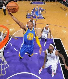 Andre Iguodala played another nice all-around game and wound up with eight points, six assists, six rebounds and three steals.