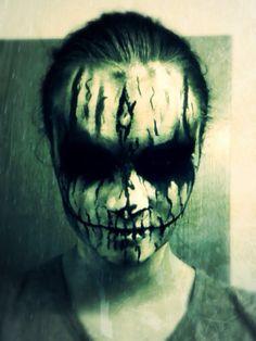 Halloween horror makeup!!