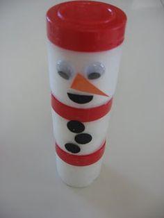 snowman blocks