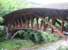 设计独特的桥