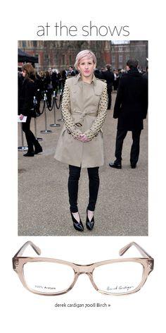 Ellie Goulding: Derek Cardigan Picks - At The Shows | The Look | Coastal.com – Your Eyewear Fashion Destination